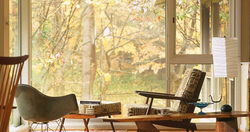 آشنایی با سبک های معماری داخلی : سبک Midcentury یا سبک مدرن نیمه قرن بیستم